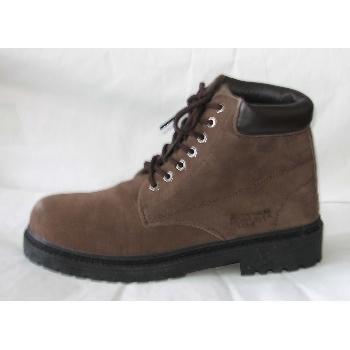 Wholesale Forester Men's Suede Work Boots, Dark Brown
