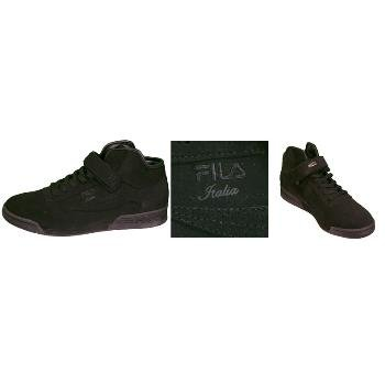 Wholesale Men's Fila Italia Mid FB Black