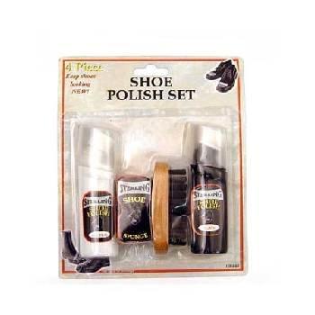 Wholesale Shoe Polish / Brush Set