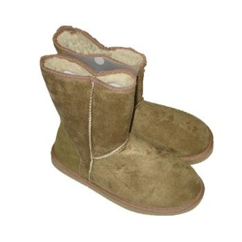 Wholesale Faux Leather Slipper Boots