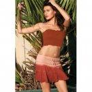 Wholesale Embellished Cotton Gauze 3-Tier Skirt