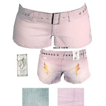 Wholesale DEF JAM: Junior Denim Shorts