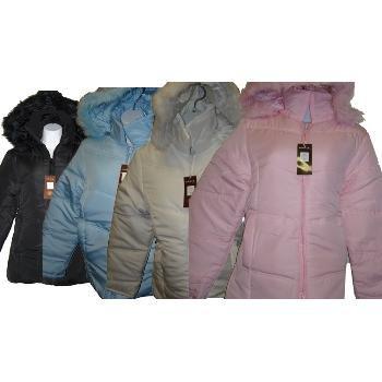 Wholesale Juniors Bubble Jacket With Hood