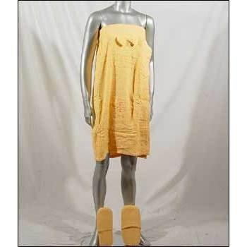 Wholesale Junior Towel Wrap and Slipper Set