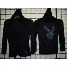 Wholesale Playboy Hooded Zip up Shirt