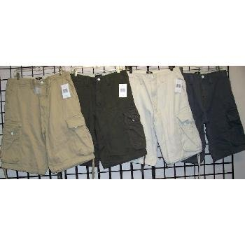 Wholesale STRATEGIC OUTFITTERS Men's Cargo Shorts