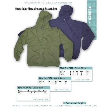 Wholesale Men's 9oz hooded pullover sweatshirts
