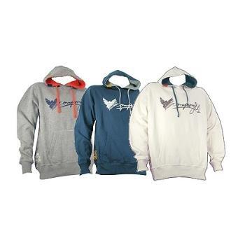 Wholesale COMPANY 81: Mens' Pullover Hooded Fleece
