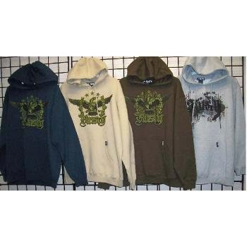 Wholesale RUSTY Men's Hoodies Pull Over Sweatshirts