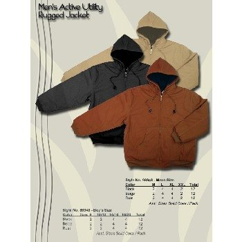 Wholesale Men's Utility Bomber Jacket