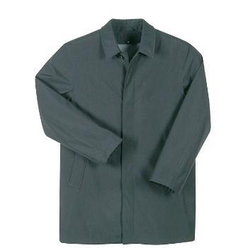Wholesale Men's Black Water-repellent Overcoat