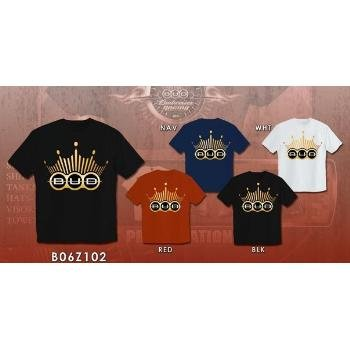 Wholesale Budweiser Crown Design T-Shirt Mens