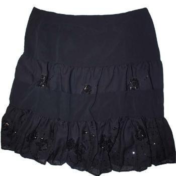 Wholesale Versailles Plus Size Tier Skirt