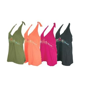 Wholesale Junior PLus Sized Halter Top