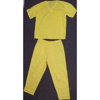 Wholesale Medical Scrub Set - Yellow