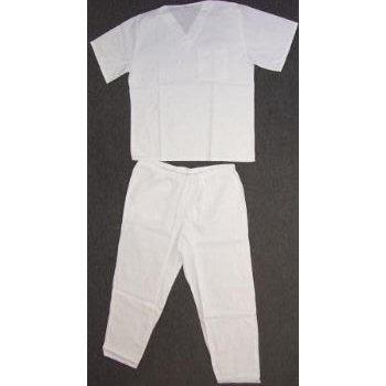 Wholesale Medical Scrub Set-White