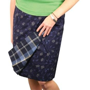Wholesale Ladies Wrap Around Reversible Skirt