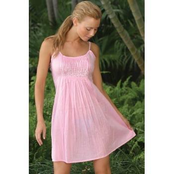 Wholesale Pleated Sequin Top Sun Dress