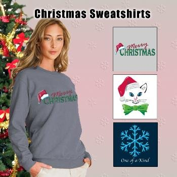 Wholesale Ladies Holiday Sweatshirts