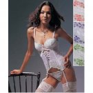 "Wholesale ""La Mariposa"" Lace & Ribbon Bustier Set"