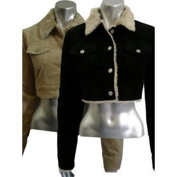 Wholesale Hip Women's Cool Corduroy Jacket 5 COLORS