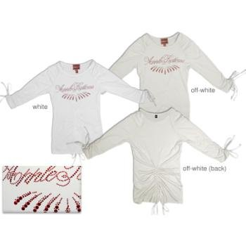NEW! Wholesale Ladies Draw String L/S Tee