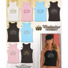 Wholesale Budweiser Women's Rhinestone Tank Top