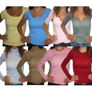 Wholesale Long and Short Sleeved Shirts