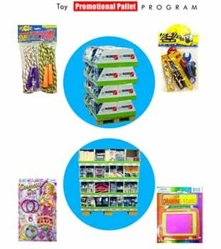 Wholesale Toy Promotional Pallet Program