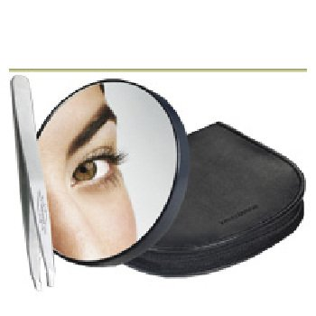 Wholesale 10X Magnifying Mirror and Slant Tweezer