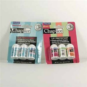 Wholesale Chap Ice Lip Protectant Assorted 3 Pack