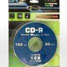 Wholesale 2 Pack CD-R CDs.
