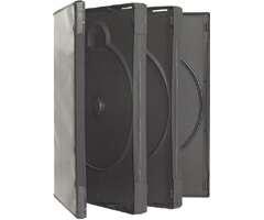 Wholesale Nexpak Bulk Triple Slim DVD Storage Case with Full