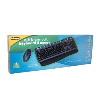 Wholesale Fellowes Multi-Function Keyboard & Optical Mouse