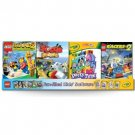 Wholesale 40 Unit Crayola/Lego Children's Software display