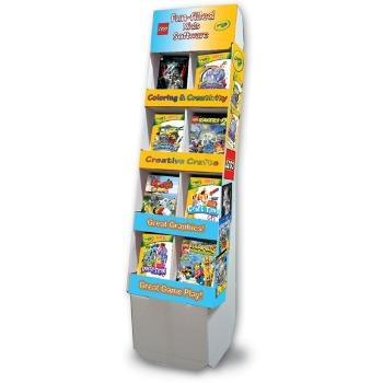 Wholesale 32 Unit Crayola/Lego Children's Software Display