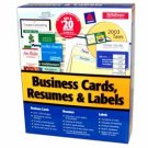 Wholesale Closeouts - My Software Business Card, Resume And Label Maker