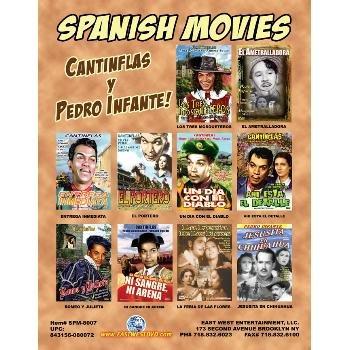 Wholesale Spanish DVD Movies Box 7