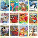 Wholesale Spanish Cartoon DVDs Box 6