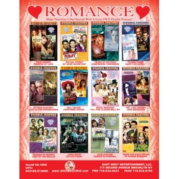 NEW! Wholesale Double Featured ROMANCE Movies