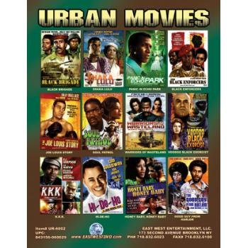 Wholesale Urban / Ethnic Titles Box 2-on DVD