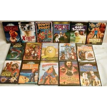 Wholesale Childrens Better DVDs 30 Pack
