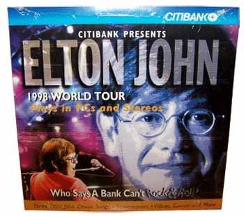 Wholesale Elton John 1998 World Tour CD