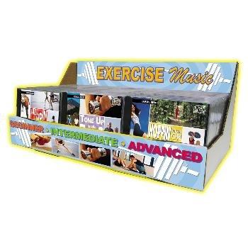 Wholesale Exercise Music Jewel Case Display