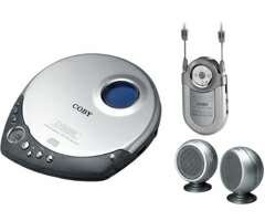 Wholesale Coby Slim Personal CD Player, Mini AM/FM Radio and