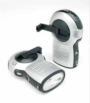 Wholesale Premium Wind-Up Radio with Flashlight