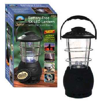 Wholesale Wind-up 5 LED Lantern & FM Radio