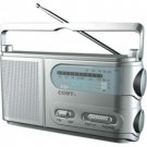 Wholesale Coby Portable AM/FM/TV/Weather Band Radio