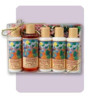 NEW! Wholesale 5 Pack Arizona Sun Bath Gift Set