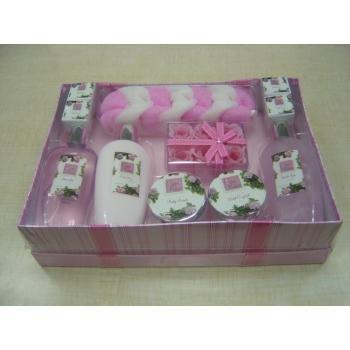 NEW! Wholesale Shanti 9 Piece Bath and Body Gift Set Eau de Rose